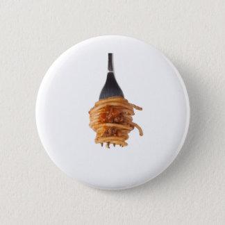 Spaghetti bolognese pinback button