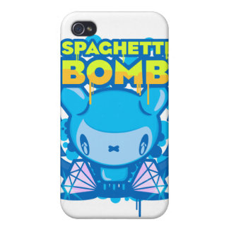 Spaghetti Bomb Covers For iPhone 4