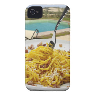 Spaghetti Carbonara iPhone 4 Case