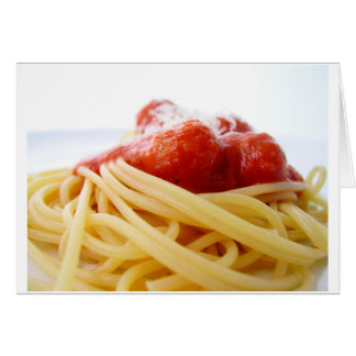 Spaghetti Card