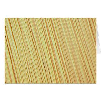 Spaghetti Cards