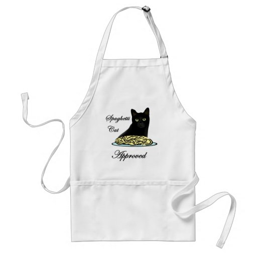 Spaghetti Cat Approved Adult Apron