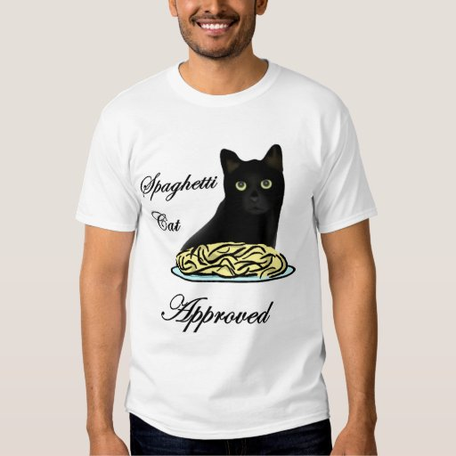 Spaghetti Cat Approved T-shirts