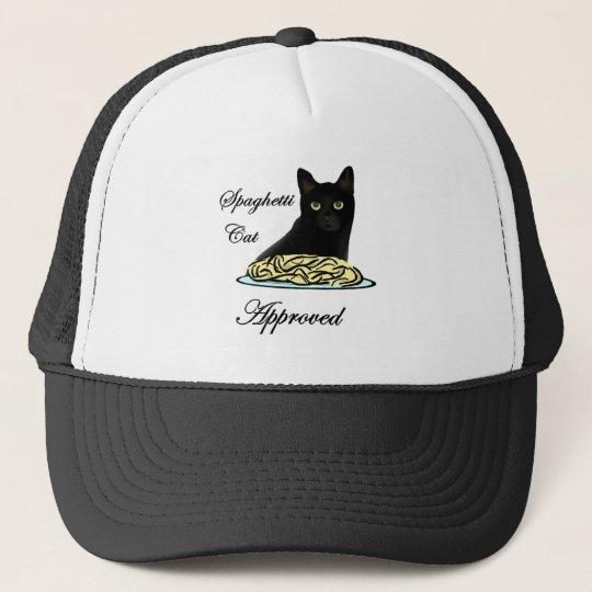 Spaghetti Cat Approved Trucker Hat
