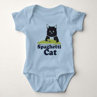 Spaghetti Cat Baby Bodysuit