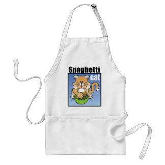 Spaghetti Cat Frenzy Adult Apron
