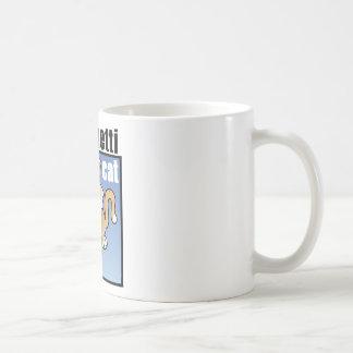 Spaghetti Cat Frenzy Classic White Coffee Mug