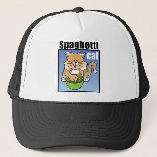Spaghetti Cat Frenzy Trucker Hat