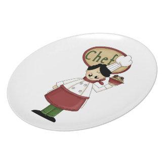Spaghetti Chef Plate
