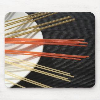 Spaghetti design mousepads