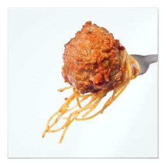 Spaghetti Dinner Card