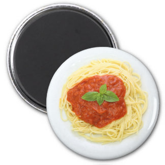 Spaghetti Dinner Refrigerator Magnet