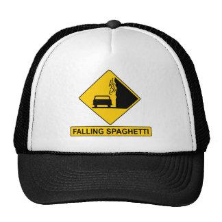 Spaghetti Falls Out Mesh Hat