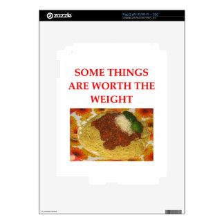 SPAGHETTI iPad 2 SKIN