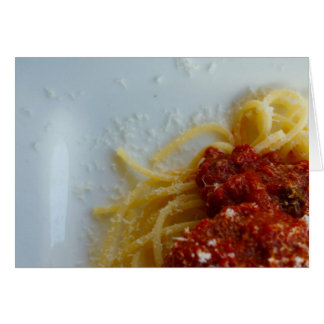 Spaghetti! Notecard, Brad Hines Photography Card
