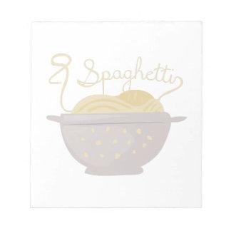 Spaghetti Notepad