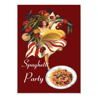 SPAGHETTI PARTY DANCE,ITALIAN KITCHEN AND TOMATOES ANNOUNCEMENT