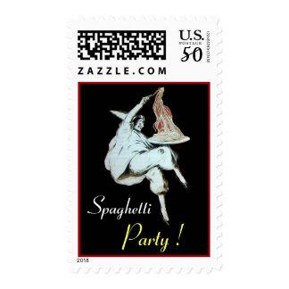 SPAGHETTI PARTY,ITALIAN KITCHEN black Postage