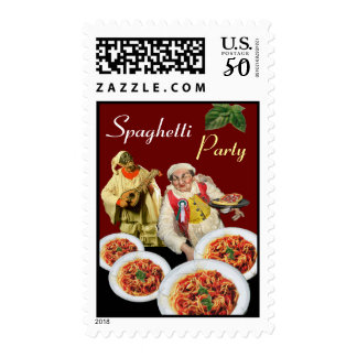 SPAGHETTI PARTY,Italian Kitchen,Chef,Pulcinella Postage