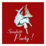 SPAGHETTI PARTY, ITALIAN KITCHEN dinner, brunch Announcement