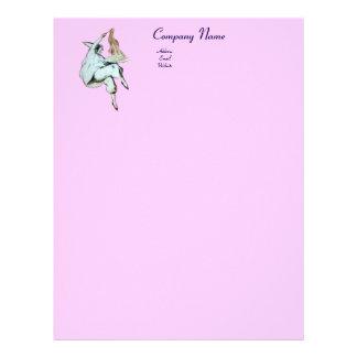 SPAGHETTI PARTY, ITALIAN KITCHEN,RESTAURANT pink Letterhead