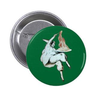 SPAGHETTI PARTY ITALIAN KITCHEN, RESTAURANT red Pinback Button