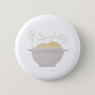 Spaghetti Pinback Button