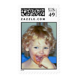 Spaghetti Postage Stamps