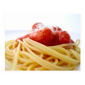Spaghetti Postcard