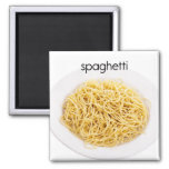 Spaghetti Refrigerator Magnet