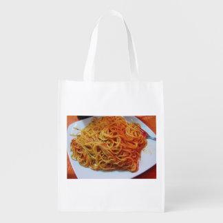 Spaghetti Reusable Grocery Bag