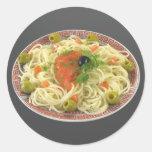 Spaghetti Stickers