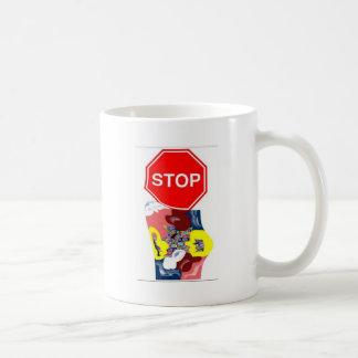 Spaghetti Stop Sign Coffee Mug