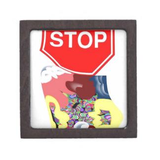 Spaghetti Stop Sign Gift Box
