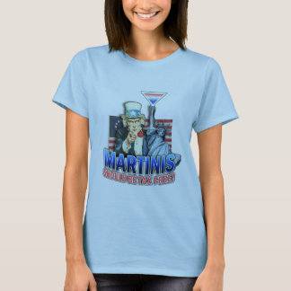 Spaghetti Tank Top T-shirt - Martinis Should Be Ta