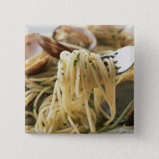 Spaghetti Vongole Bianco Pinback Button