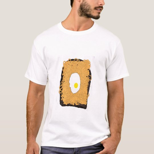 Spaghetti with Fried Egg on toast T-Shirt