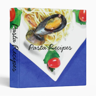 Spaghetti With Seafood, Pasta Recipes Binder