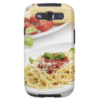 Spaghetti with tomato sauce and basil galaxy s3 covers