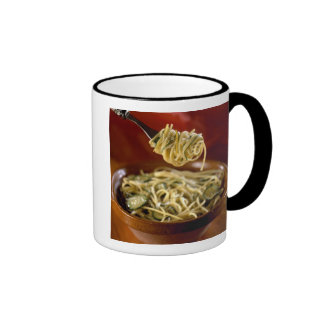 Spaghetti with zucchinis and lemon For use in Coffee Mug