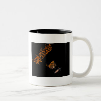 Spaghettification Mug