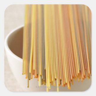 Spaghettis Square Sticker