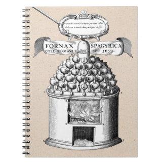 Spagyric Herbal Medicine Spiral Notebook