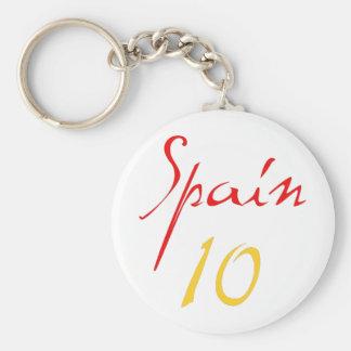 Spain 10! key chain