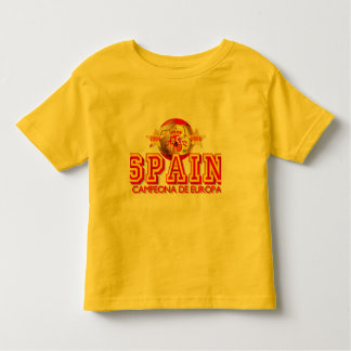 Spain 1964 and 2008 Champions of Europe gifts Toddler T-shirt