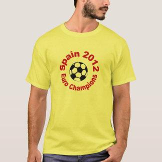 Spain 20102 Euro Champions T-Shirt
