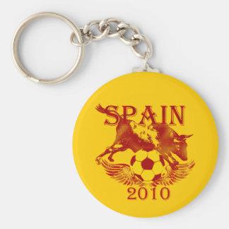 Spain 2010 car keychain for Espana La Roja fans