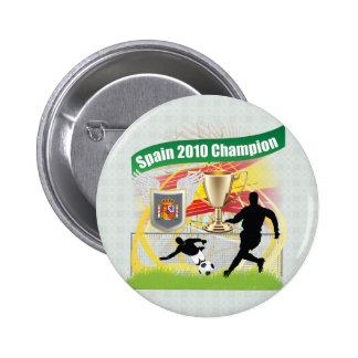 Spain 2010 Champion 2 Inch Round Button
