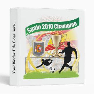 Spain 2010 Champion Binders
