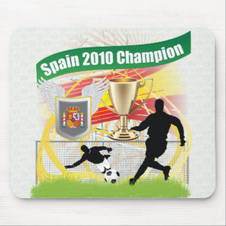 Spain 2010 Champion Mouse Pad